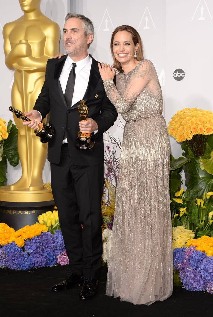 Angelina Jolie leaned on Cuarón.