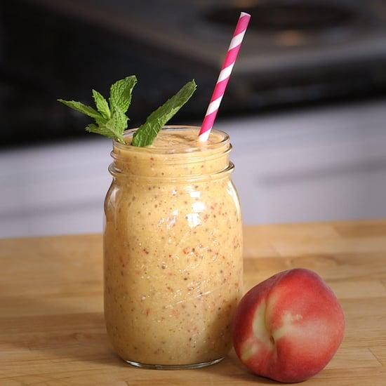 Vegan Peaches and Cream Smoothie Recipe