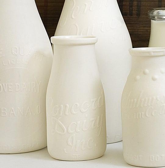 Etsy Find:  Reproduction Milk Bottles