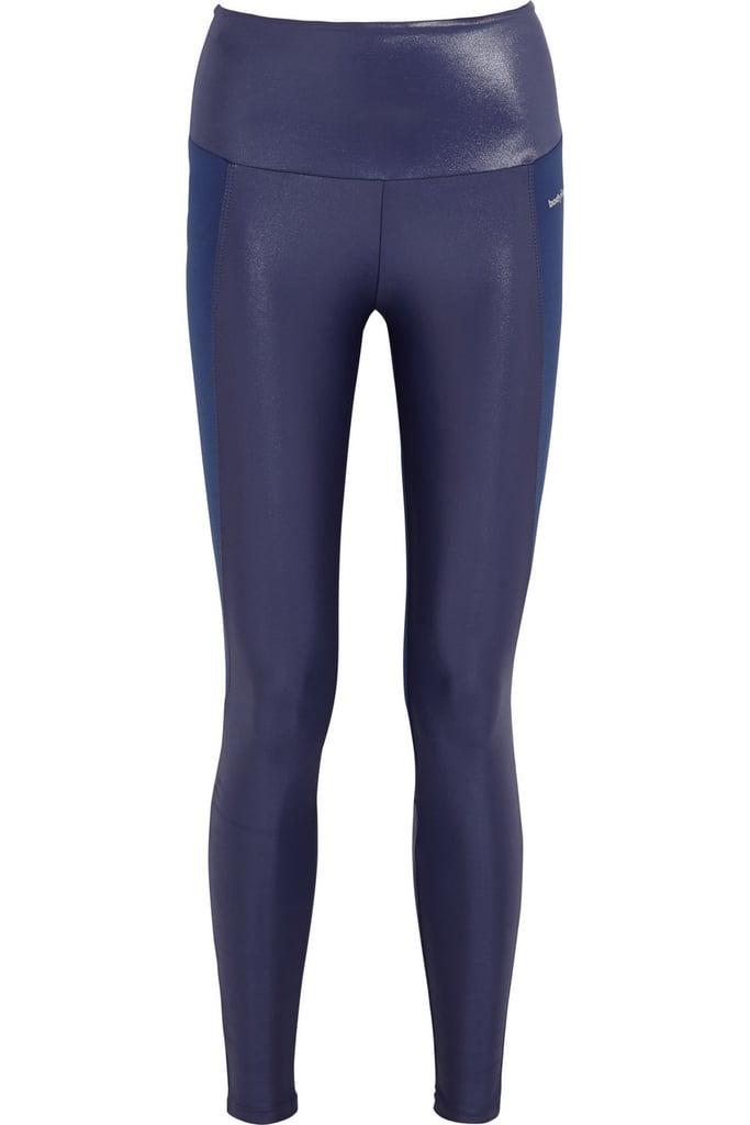 Bodyism I Am Shiny paneled stretch-jersey leggings ($145)