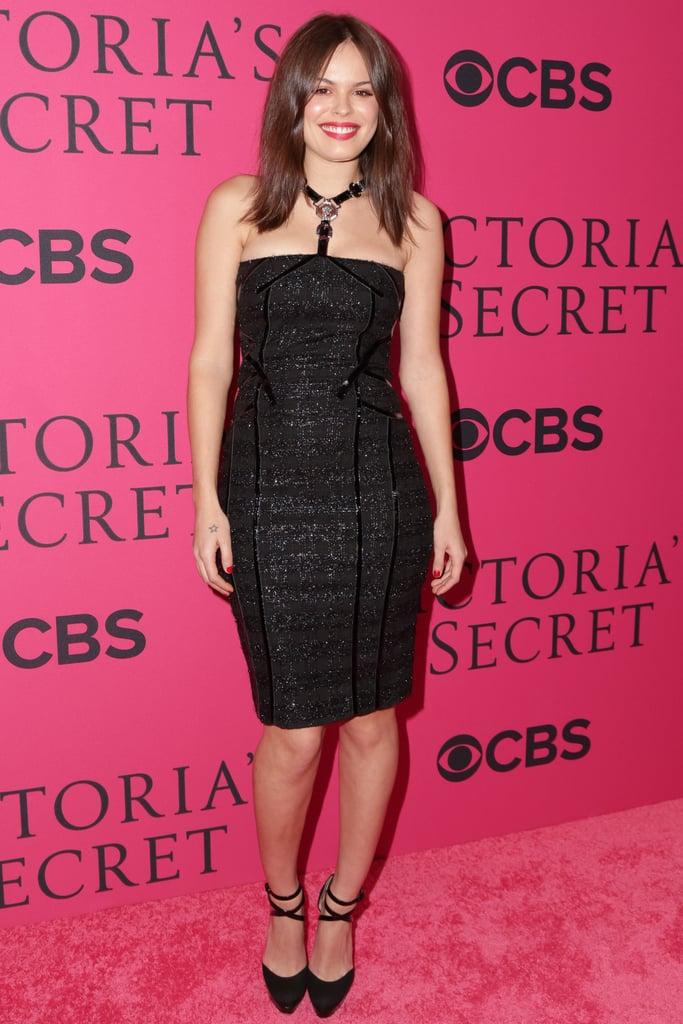 Atlanta de Cadenet at the Victoria's Secret Fashion Show.
