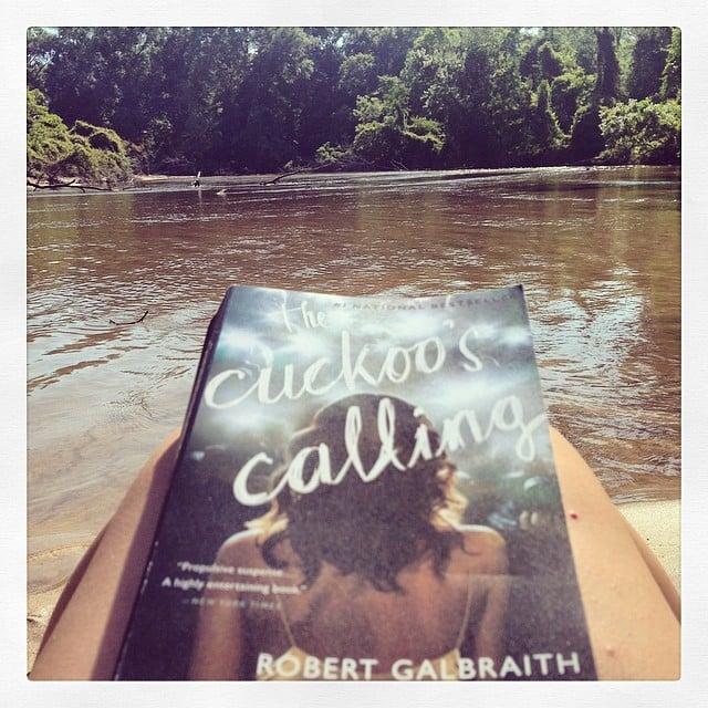 """Shelliharvell was """"river reading on a Louisiana Sunday."""""""
