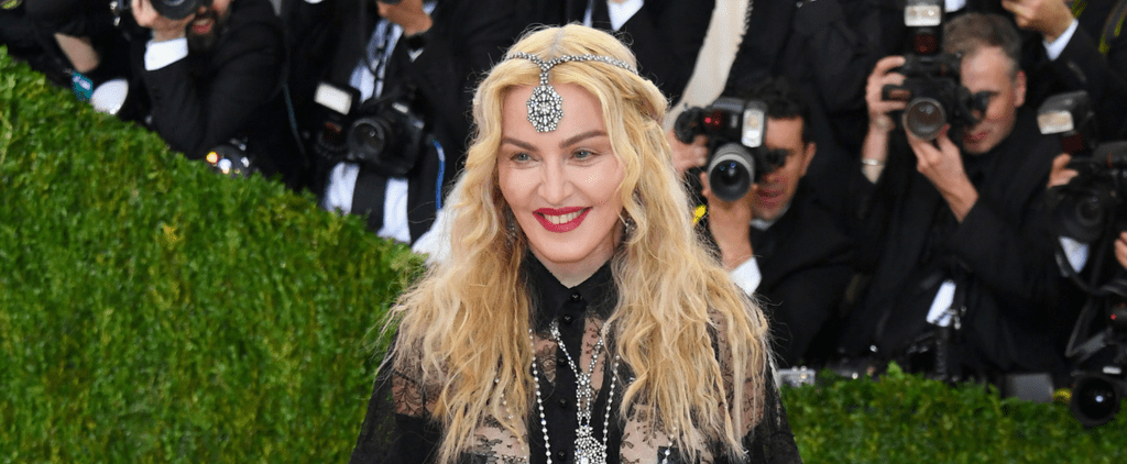 Madonna Brought a Full Moon to the Met Gala