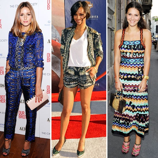 How to Wear Head-to-Toe Prints For Fall 2011
