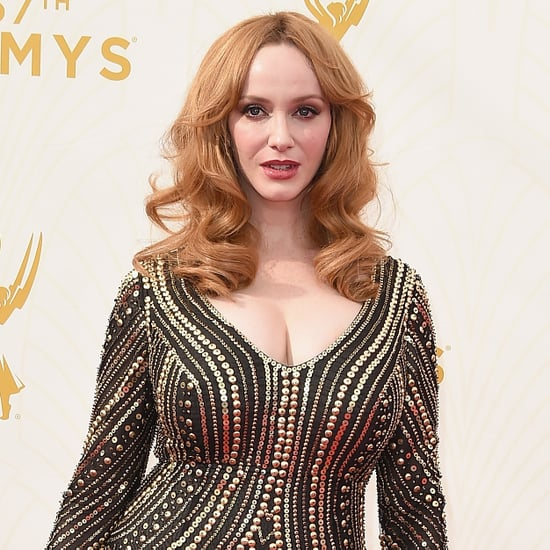 Christina Hendricks Reaction to Jon Hamm Emmy Win