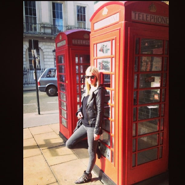 Nicky Hilton shared a snap from London. Source: Instagram user nickyhilton