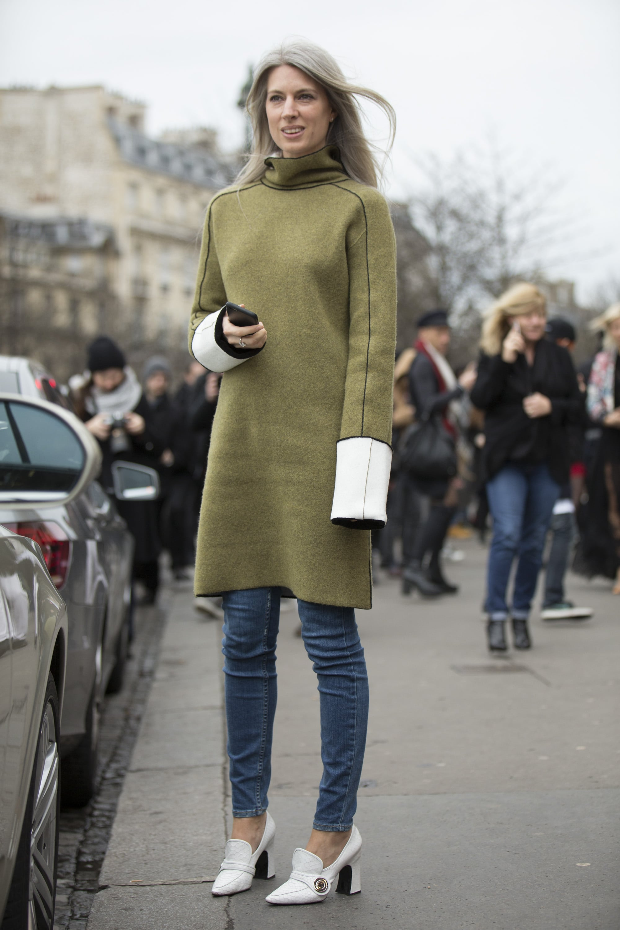 Street Style At Paris Haute Couture Fashion Week Spring