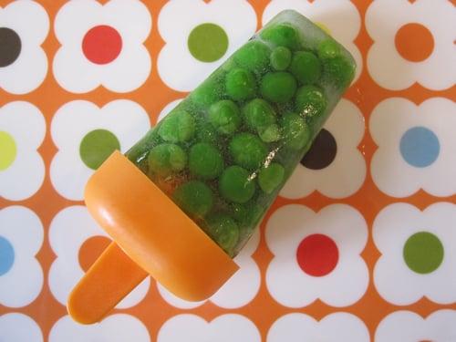 Weelicious's Peas in a Pop