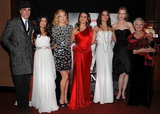Photos from the Nine New York Premiere Including Madonna, Mary-Kate Olsen, Kate Hudson, Nicole Kidman, Penelope Cruz