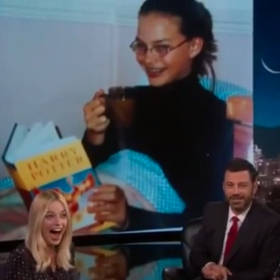Margot Robbie Harry Potter Photo on Jimmy Kimmel