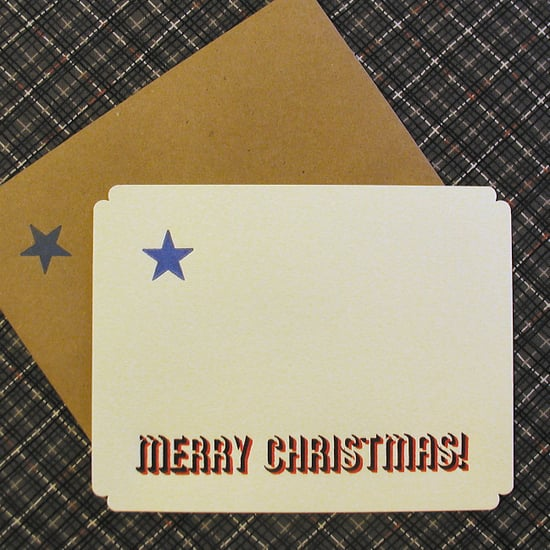 Holiday Card Guide:  PressaRussa's Star-Quality Cards