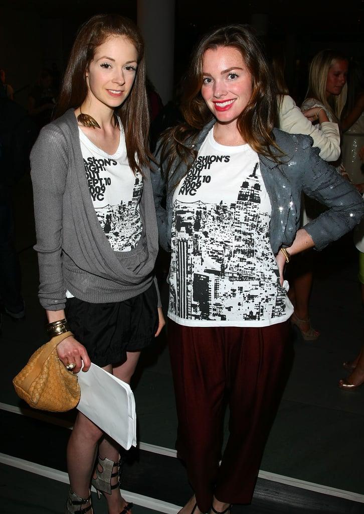 Vogue's Stephanie LaCava and Jessica Sailer
