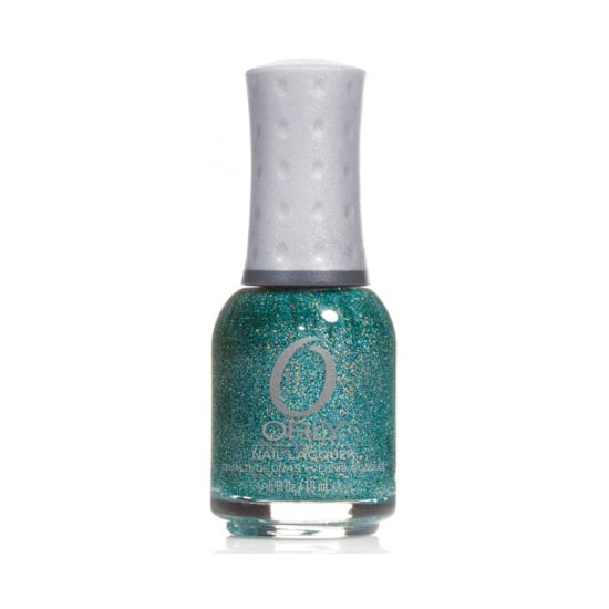 Don't let the name discourage you from polishing on this holographic shade! Orly Sparkling Garbage ($7) is a mesmerizing blend of high-shine oceanic glitter flecks.