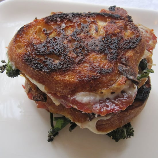 Grilled Cheese With Prosciutto and Broccoli Rabe Recipe