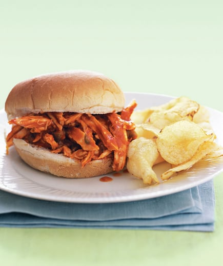 Barbecue Chicken Sandwiches