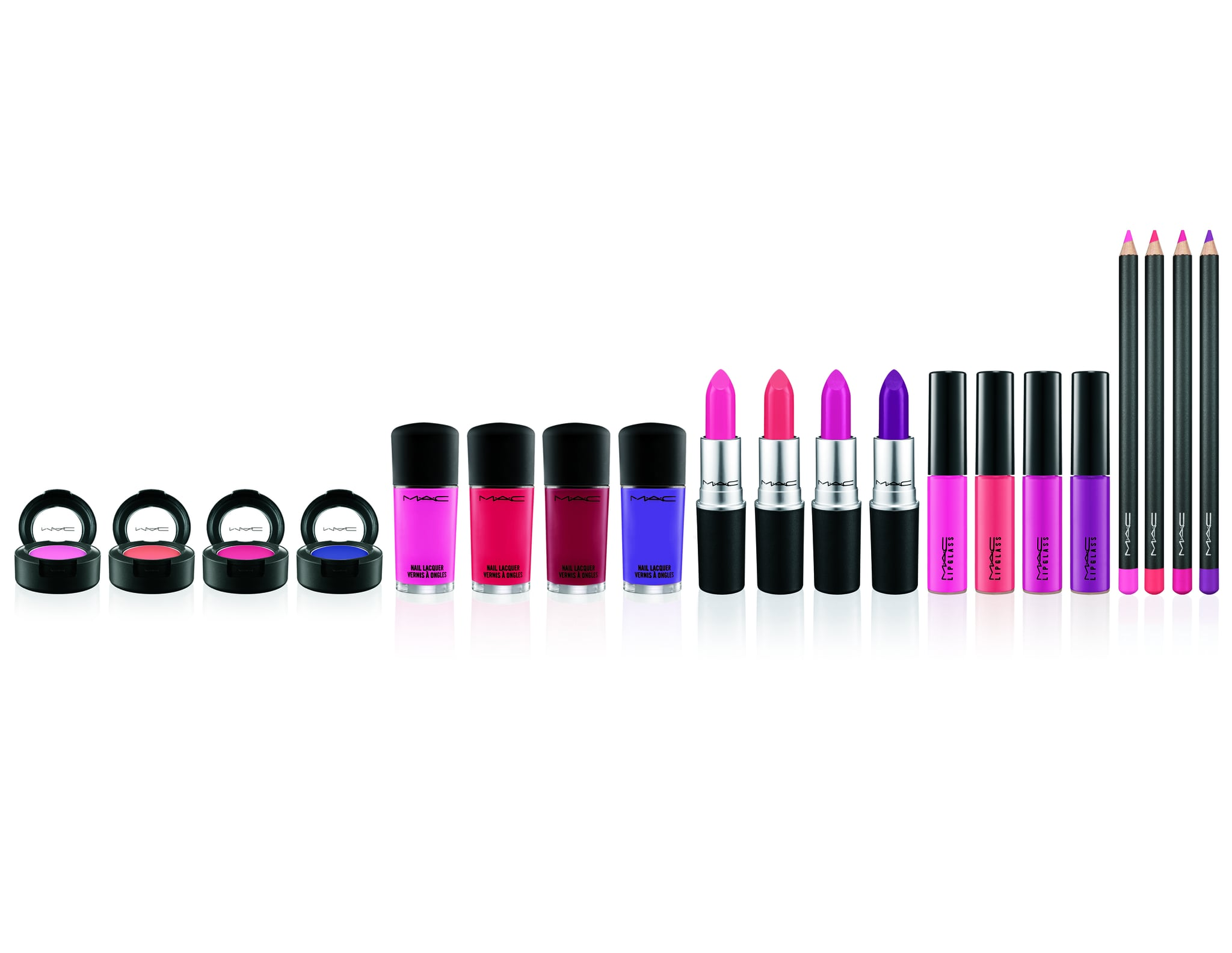Matching Eyes, Lips, and Nails Is Easy With MAC's Monotone Makeup Sets