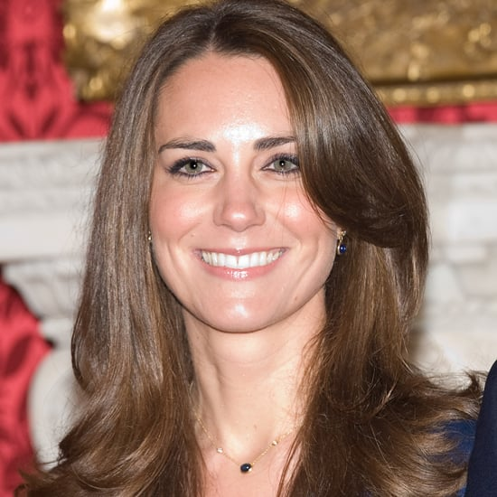 Kate Middleton's Blue Dress in Engagement Photos