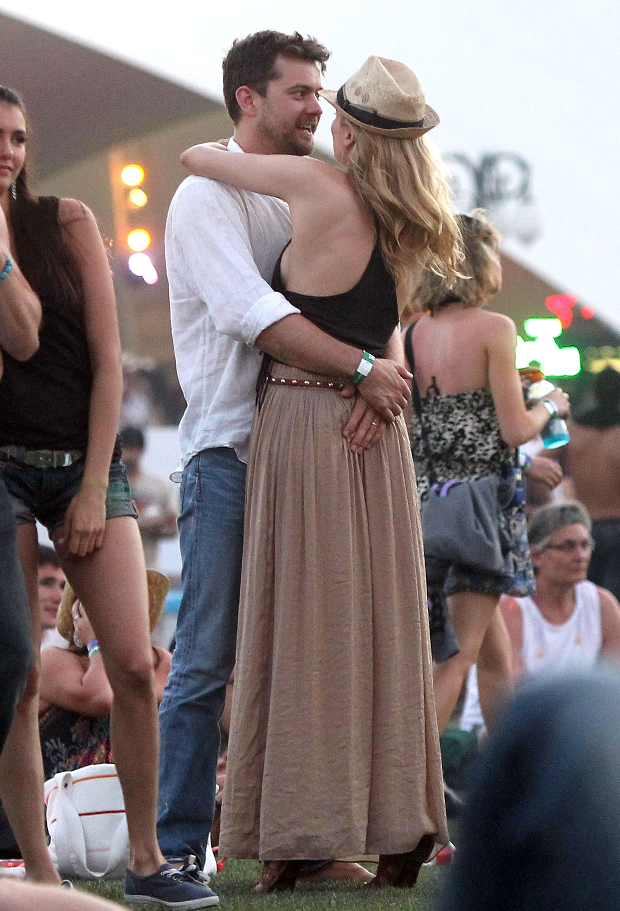 Diane Kruger and Joshua Jackson danced in the 2011 crowd.