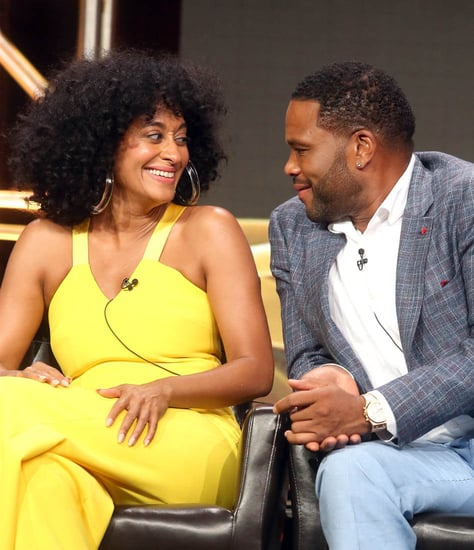 Tracee Ellis Ross and Anthony Anderson promote Black-ish at the TCAs with the rest of the cast