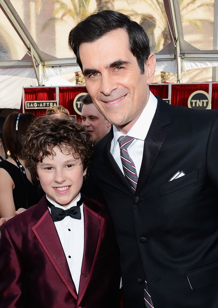Nolan Gould and Ty Burrell