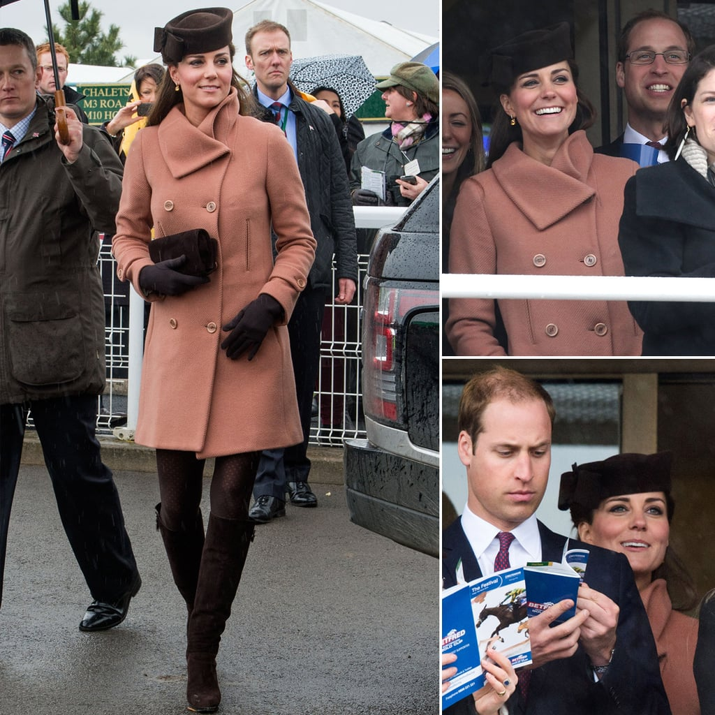 Kate Middleton and Prince William Join Up For a Day at the Races