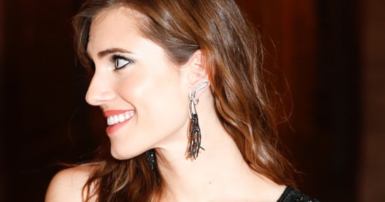 Allison Williams Pierced Her Ear With a Safety Pin