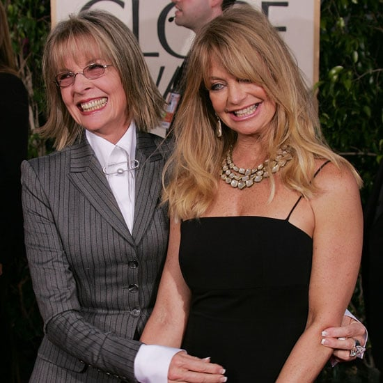 In 2005, Diane Keaton and Goldie Hawn walked the red carpet together.
