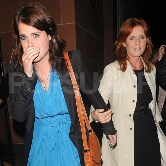 Sarah Ferguson and Princess Eugenie Pictures in London