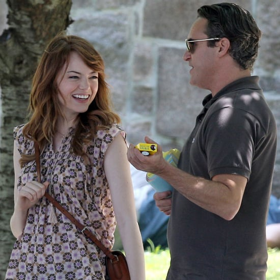 Emma Stone and Joaquin Phoenix Film Woody Allen Movie
