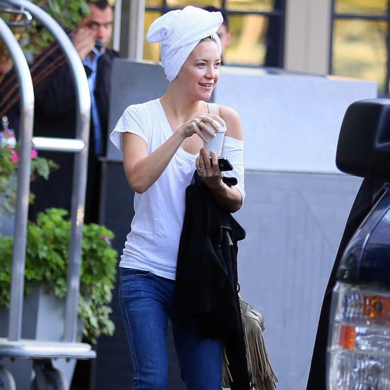 Kate Hudson With No Makeup in Boston | Pictures