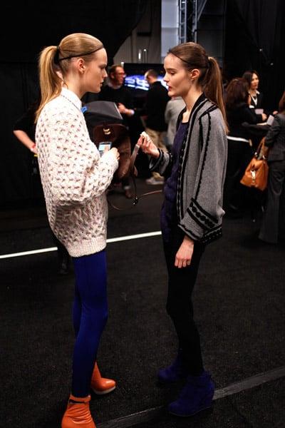 Off-Runway Models at New York Fashion Week Fall 2010!