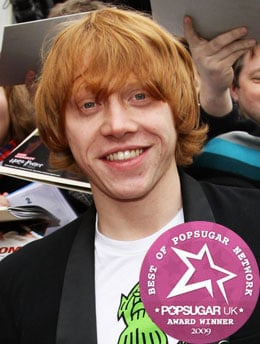 Rupert Grint Beats Robert Pattinson to be Our 2009 Favourite British Actor As Voted By PopSugarUK Readers