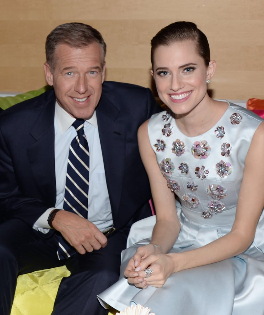But yes, dad is none other than newsman Brian Williams.