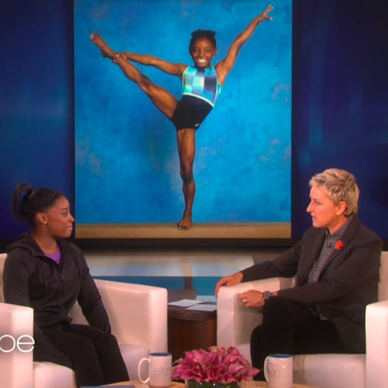 Simone Biles on The Ellen DeGeneres Show March 2016