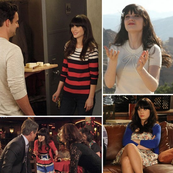 Get inspired with a peek at Zooey Deschanel's New Girl style moments.
