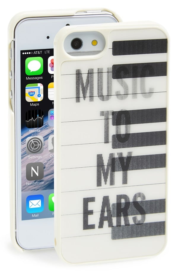 Kate Spade Lenticular Piano Keys iPhone 5/5S Case