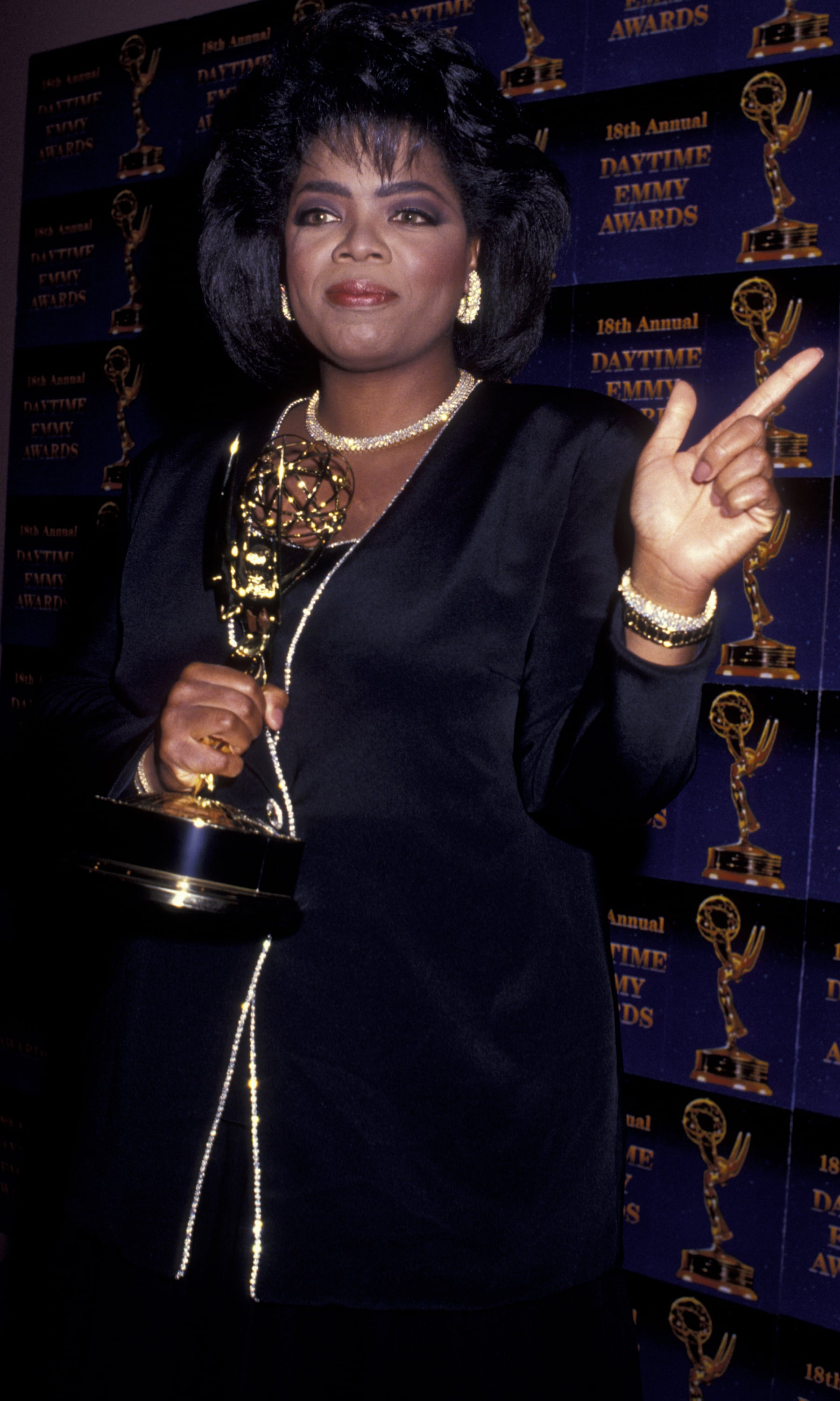 Oprah pointed it up with her 1991 Daytime Emmy.