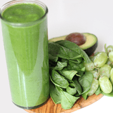 Breakfast Smoothie: Spinach and Avocado