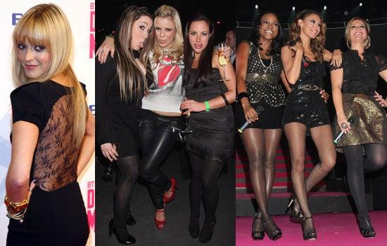 Photos Of Sugababes, Fearne Cotton, Big Brother 9's Sara Folino, Rebecca Shiner, Stephanie McMichael at BT Digital Music Awards