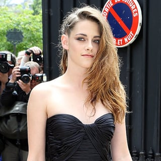 Celebs At 2013 Haute Couture Fashion Week: Kristen Stewart