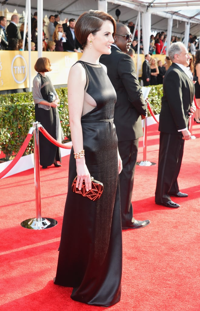 Michelle Dockery wore vintage Chado Ralph Rucci at the SAG Awards.