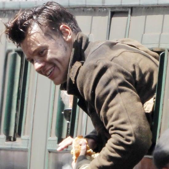 Harry Styles on Set of Dunkirk July 2016