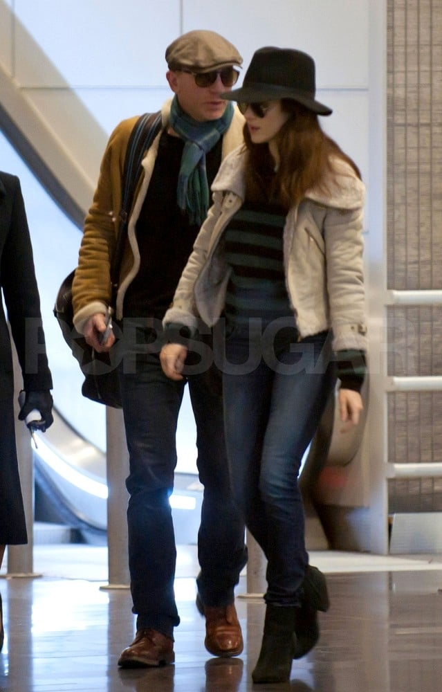 Rachel Weisz and Daniel Craig went to France after New Year's.