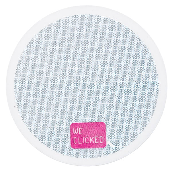 """""""We Clicked"""" Mouse Pad"""