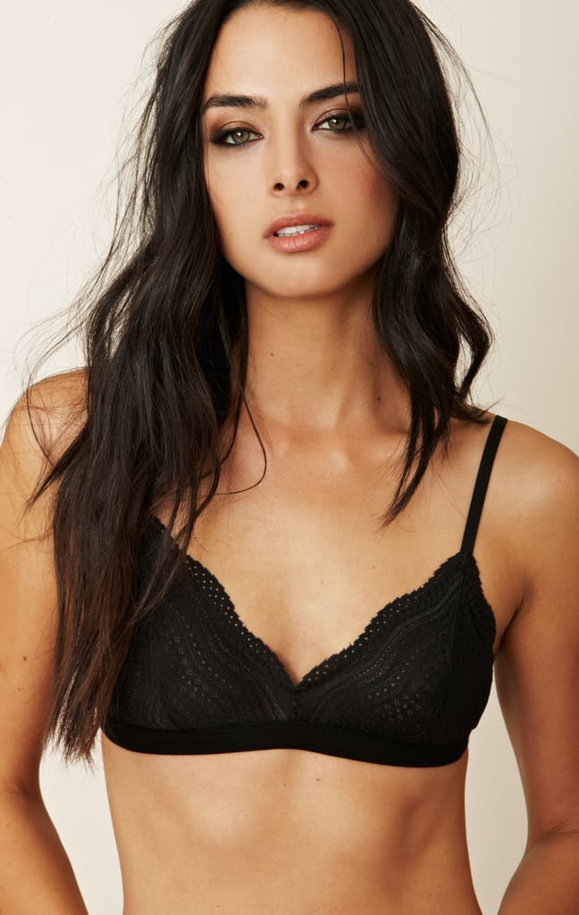 For the girl who loves a minimalist's take on underthings, this Cosabella Dolce Vita soft bra ($46) offers up a cute scalloped trim detail without all the padding add-ons.