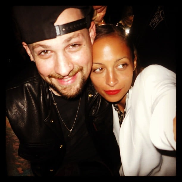 Nicole Richie snapped this selfie of herself with husband Joel Madden. Source: Instagram user nicolerichie