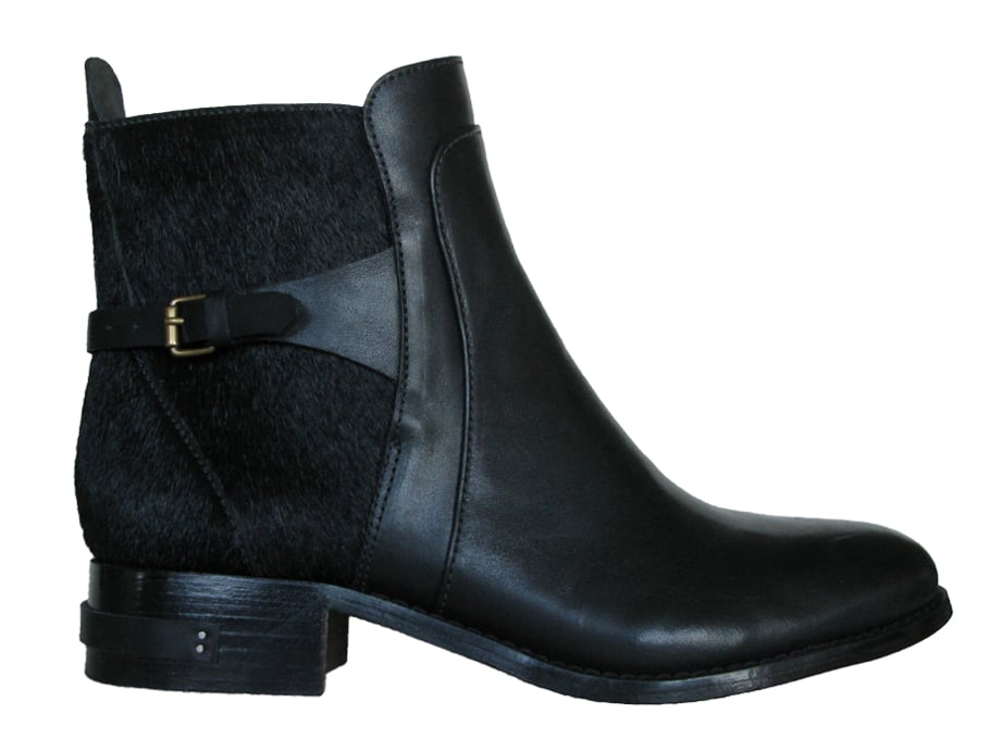 We love the feel of these Freda Play calf-hair jodhpur-inspired boots ($515). They look and feel luxe but can be styled for everyday occasions.