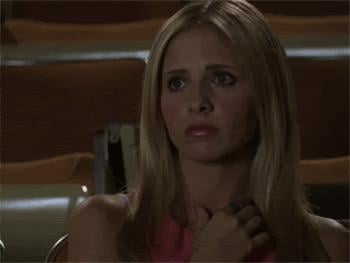 But once Giles tells her of her destiny, it's not long before she becomes the sardonic Buffy we know and love.