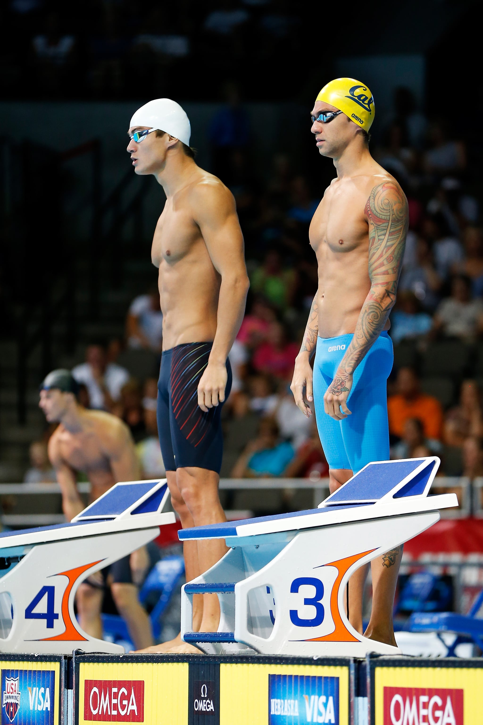Anthony Ervin nathan adrian
