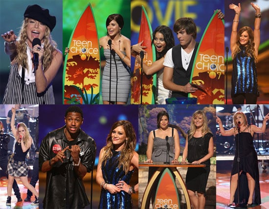 Teen Choice Show: Full Of Glitter And (Mostly) PG